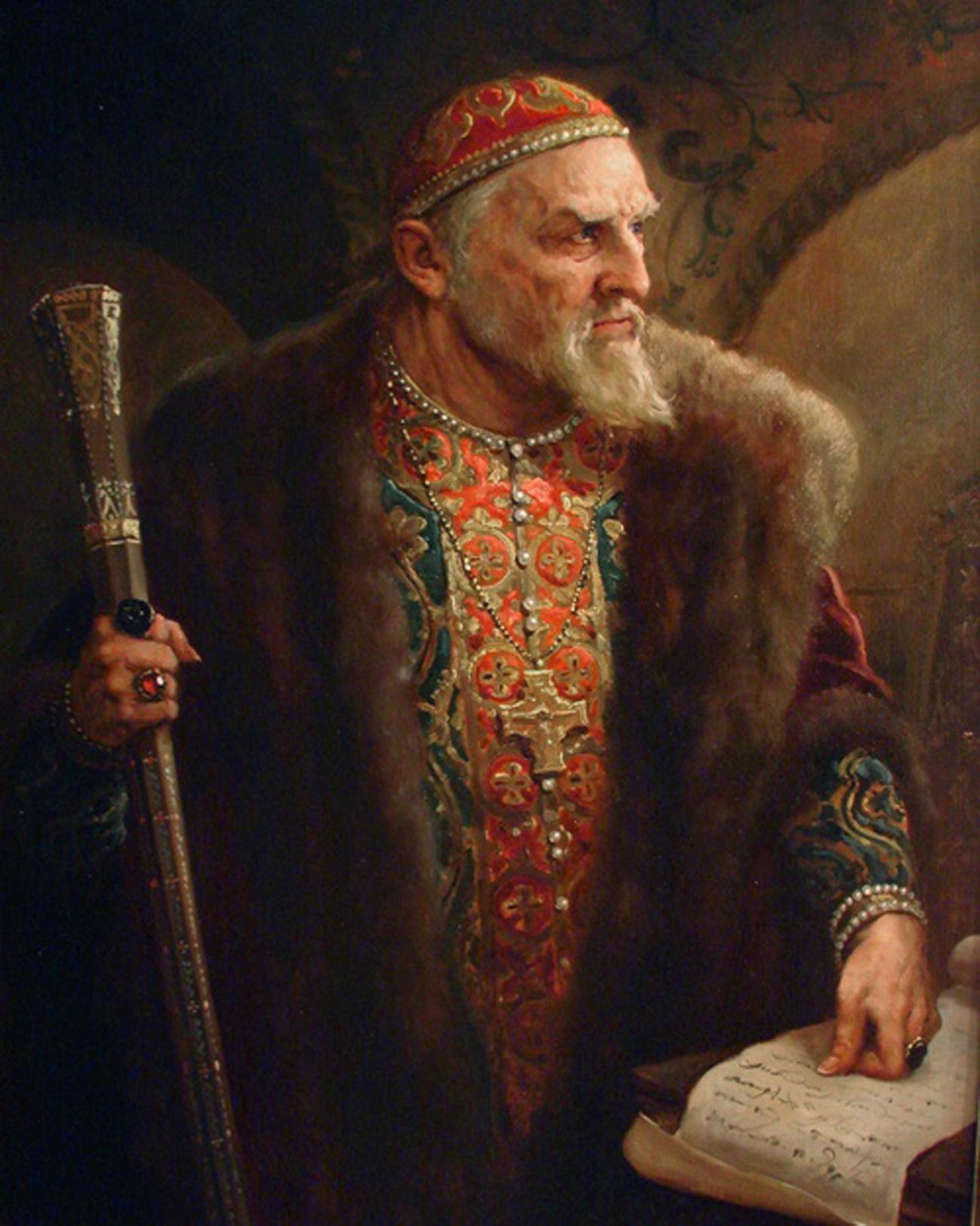 А. Шишкин «Царь Иван Грозный». <br>
