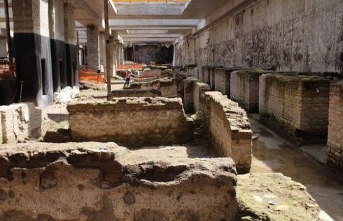 Итальянский археологический сюрприз: бараки телохранителей.